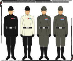 Star Wars - Imperial Officer Uniforms by Tounushifan on DeviantArt