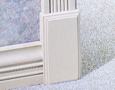 "I wonder if this could fix our short door frames? 7/8"" x 2-1/2"" x 5"" MDF Plinth Block Moulding"