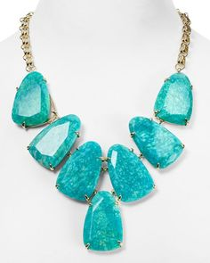 Kendra Scott Harlow Statement Necklace, 19""