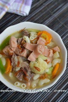 Diah Didi's Kitchen: Sup Makaroni