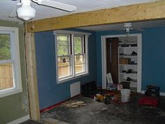 Top Notch Woodworks: Removing Load Bearing Wall