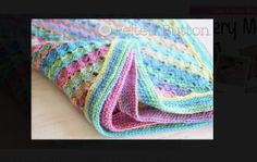 10 Free Pastel #Crochet Patterns for Spring - Blanket from @feltedbutton