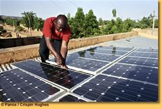 Solar power: cheap energy source for Africa NEPAD seeks to boost electricity supply in remote rural areas Off Grid Solar Power, Solar Power Panels, Solar Panels For Home, Cheap Energy, Landscaping Las Vegas, Solar Energy Projects, Travel Sights, Smart Home Technology, Solar Panel Installation
