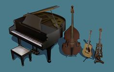 """crispsandkerosene: """" Conversions of Various TS3&4 Musical Instruments These are functional instruments which require Uni, Freetime and Argon's custom instruments hack. Swatches: - TS3 Countrabass - TS4 Acoustic Guitar - TS4 Crappy Handmade Guitar -..."""