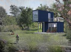 Minimal House 2x20ft > 2x20ft > Die Spezialisten im Bereich der Container-Architektur