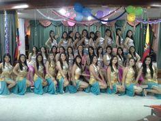 Presentación del grupo de danza arabe del Liceo Femenino Mercedes Nariño en Abril de 2013