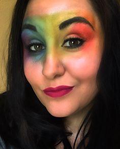 Yesterday I played Roller Derby and wore a Rainbow mask... It was a good day. #rollerderby #rollerskates #rollerderbyofinstagram #skate #wftda #crrg #cedarrapids #cedarrapidsrollergirls #makeup #rainbow #urbandecay #urbandecayelectric #awesome #fun #katvondlipstain by lynn_veruc_assault_kolbe