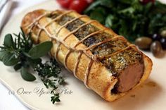 Once Upon a Plate The Recipes: Pork Roasted the way the Tuscans Do