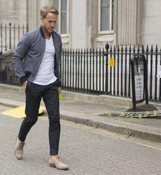 Spring varsity. London fashion week Spring 2015