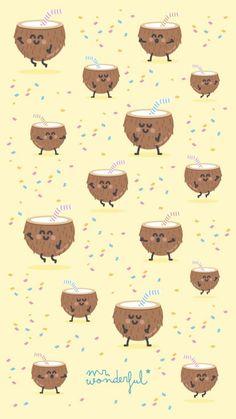 21 Super Ideas For Wall Paper Celular Fofo Comida Food Wallpaper, Iphone Background Wallpaper, Kawaii Wallpaper, Screen Wallpaper, Cartoon Wallpaper, Mr Wonderful, Cute Wallpaper Backgrounds, Cute Wallpapers, Wallpaper Hearts