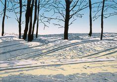 Morning Light Woodblock print.