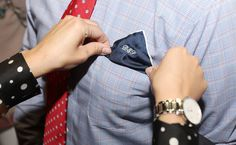 $39 Our Pocket Square Collection is a timeless assortment of silk and linen prints interpreted in rich colors, versatile silk solids with contrast tipping and crisp white linen, all made in Italy. 100% Silk Solid with contrast tipping http://denisemcbride.jhilburn.com/products/silk_solid_pocket_square/navy