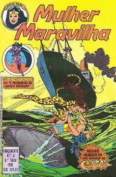 Mulher-Maravilha (Lançamento) 6ª Série - n° 3/Ebal | Guia dos Quadrinhos