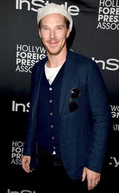 2014 Toronto Film Festival: Benedict Cumberbatch, Naomi Watts, Channing Tatum Party at InStyle  Benedict Cumberbatch