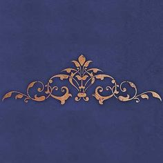 Intricate and Exotic Home Decor - Moroccan Ceiling Center Stencils - Royal Design Studio