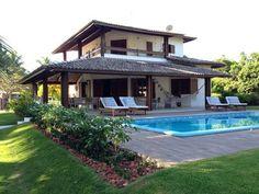Casa na Ilha com piscina e pé na areia, com 3 suites,varandas, ar condicionado em todos os quartos, cozinha equipada,louça moderna,roupa ... - Nº 6850396