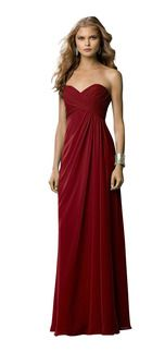 Shop Wtoo Bridesmaid Dress - 491 in Inna Chiffon at Weddington Way. Find the perfect made-to-order bridesmaid dresses for your bridal party in your favorite color, style and fabric at Weddington Way. Bridesmaid Dresses Marsala, Cranberry Bridesmaid Dresses, Beautiful Bridesmaid Dresses, Bridesmaid Dress Styles, Long Formal Gowns, Strapless Dress Formal, Prom Dresses, Wedding Dresses, Wedding Bridesmaids