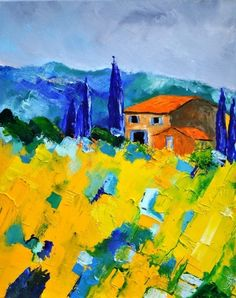 Provence 453130, painting by artist ledent pol