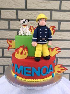 Brandweerman Sam taart Fireman Sam