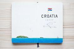 """Kondo Yoshie : travel book """" Croatia """""""