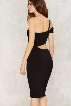 Nasty Gal Cutting It Close Bodycon Dress - Clothes | Body-Con | LBD | Dresses