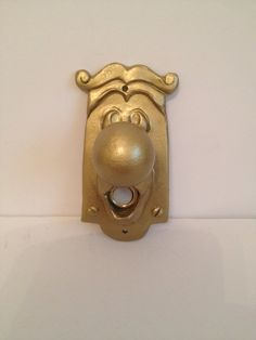 Alice in wonderland doorbell on Etsy, $40.00