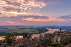 Stout Point, Petit Jean State Park, Morrliton Arkansas