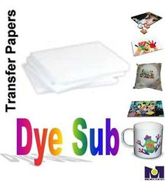 200-PCS-8-5-x11-SUBLIMATION-INK-TRANSFER-PAPER-HEAT-PRESS-FOR-EPSON-PRINTERS
