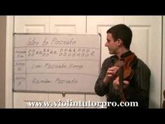 Violin Beginner Pizzicato  - Lesson 1