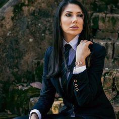"""Francisco Garrido on Instagram  """"Mujeres que rompen estilo con elegancia y  perfección en el uso de la corbata 0df67201c5c2"""