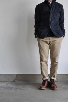 Mens Fashion Rugged – The World of Mens Fashion Alden Indy Boot, Gents Fashion, Cool Outfits, Fashion Outfits, Fashion Tips, Work Jackets, Gentleman Style, Swimwear Fashion, Work Wear