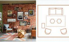 """10 ไอเดีย """"แผนผังห้องนั่งเล่น"""" จัดพื้นที่ให้เหมาะสมกับไลฟ์สไตล์ของคุณ Thai House, Fashion Room, Balcony, Terrace, Concrete, Gallery Wall, Layout, Gardening, House Design"""