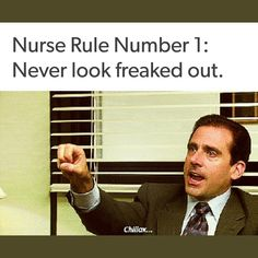 True!!! Nurses really do need to follow this rule!