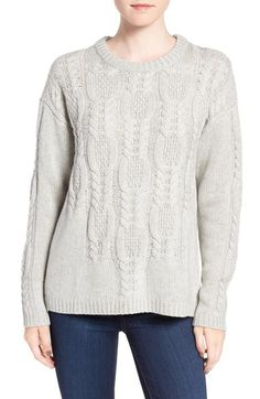 Rails 'Simone' Cable Knit Wool & Cashmere Sweater available at #Nordstrom