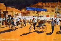 Ramesh Jhawar, Night out in Varanasi