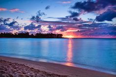 Hukilau Bay, across the street from BYU Hawaii campus