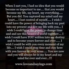 I wish i could stop time and stay here with you forever in your arms Always Here For You Quotes, Love You More Quotes, Soulmate Love Quotes, Dad Quotes, True Love Quotes, Husband Quotes, Heart Quotes, Self Love Quotes, Friend Quotes