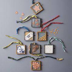 set of six mini kiko frames by nkuku | notonthehighstreet.com