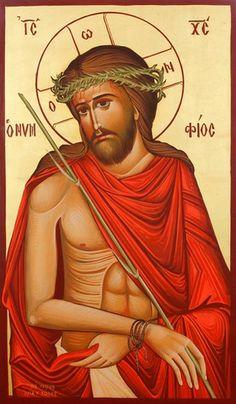 Ιησούς Νυμφίος (70x40) Byzantine Icons, Religious Art, Madonna, Princess Zelda, Fictional Characters, Hymn Art