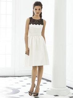 Erschwinglich Elegant Prinzessin schwarz Lace kurz Satin Brautjungfer Kleid Ballkleider