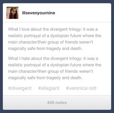 Truth ~Divergent~ ~Insurgent~ ~Allegiant~