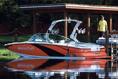 Water Sports and Water Sports Boats Sport Boats, Ski Boats, Cool Boats, Wakeboard Boats, Hell On Wheels, Boat Projects, Sup Surf, Boat Stuff, Yacht Boat