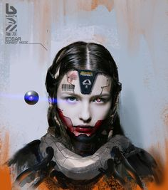 Image result for cyborg concept art