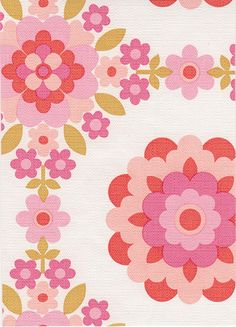 flickr fav. more 70's vintage wallpaper love. wish i could see more