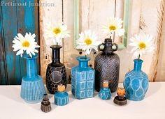spray-paint-glass-decanters  @Rust-Oleum U.S. #spraypaint