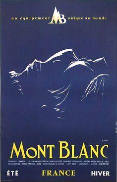 Mont Blanc   Été - Hiver   France
