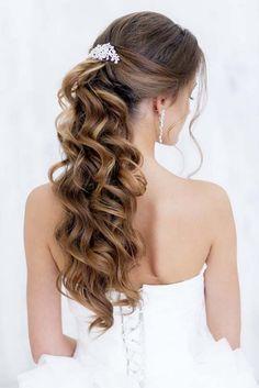 Art4studio long ponytail wedding hairstyles