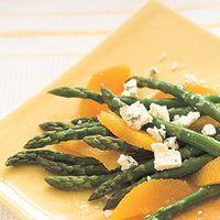 Asparagus, Orange and Blue Cheese Salad  | rachaelraymag.com