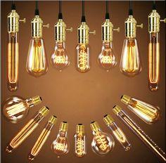 Retro žárovky Edison