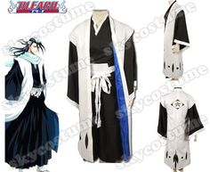 Bleach 6th Division Captain Unohana Retsu Cosplay Costumes